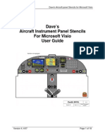 Visio Aircraft Panels v4