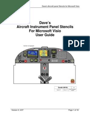 Visio Aircraft Panels v4 | Icon (Computing) | Microsoft Word