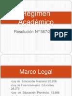 Régimen Académico