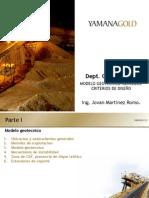 Modelo Geotecnico Mercedes Criterios de Diseno
