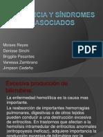Ictericia y síndromes asociados