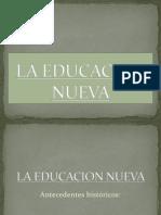La Escuela Nueva Sin Fotos