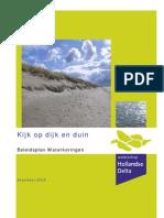 Beleidsplan Waterkeringen Waterschaphollandsedelta December2006
