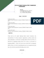 APERC Tariff Order