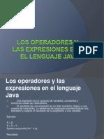 Los operadores y las expresiones en el lenguaje.pptx