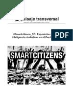 Nota de prensa de la inauguración de «Smartcitizens» de PaisajeTransversal