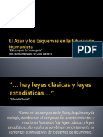 El Azar y Los Esquemas en La Educaction Humanista.ppt