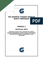 Seperator Dan Cover Depan Literasi Bahasa (Warna Biru)