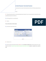 Cara Merubah Password Email Facebook