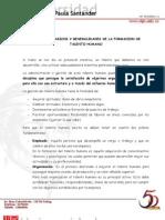 Conceptos Basicos y Generalidades de La Formacion de Talento Humano.