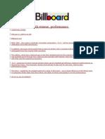 Billboard Feature 2-6-09