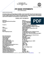 The World Bank Group USA 2012 Final Audited Statements