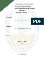 Historia Clinica Consulta Externa 1