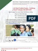 Découverte de Haut Tonkin 9 jours - Trekking au Nord Vietnam- Dès 519 USD