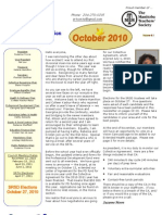 SRTA Newsletter October 2010