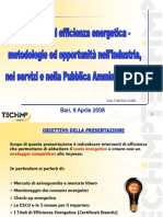 Presentazione - E.S.Co. ed efficienza energetica