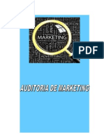 Auditoria de Marketing a La Empresa