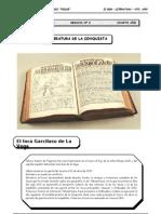 4to año - LIT - Guía 2 - Literatura de la Conquista