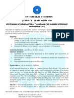 Notice to Students 2013