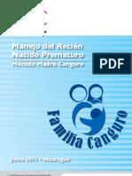 Alianza Manual Manejo Metodo Madre Canguro Hosp Bertha Calderon Managua 2011