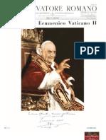 Centro Larrain Concilio Vaticano II Gestacion
