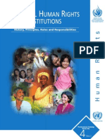 National Human Rights Institutions History, Principles, Roles and Responsibilities