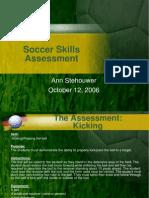 Soccer Skills Assessment