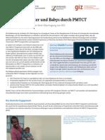 Gesündere Mütter und Babys durch PMTCT