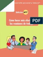 NUMERO 7 Como Hacer Reuniones Mas Efectivas en El Trabajo