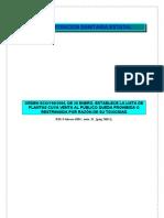 Orden SCO 190 2004 de 28 Enero Establece La Lista de Plantas Cuya Venta Al Publico Queda Prohibida o Restringida Por Razon de