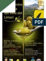 Afiche Encuentro Olivícola Valle del Limarí I
