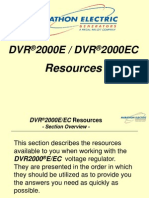 DVR2000E Training--SECT #10 (Resources)
