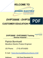 DVR2000E Training--SECT #1 (Overview)