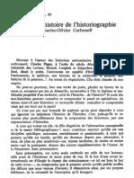 Pour Une Histoire de l'Historiographie - Carbonell