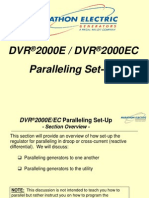 DVR2000E Training--SECT #6 (Paralleling Set-Up)