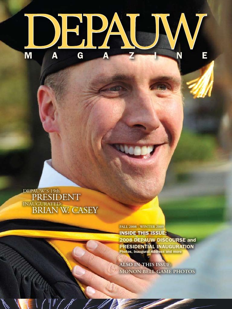 Fall 2008 DePauw Magazine | Curriculum | University