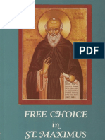 [Joseph P. Farrell] Free Choice in St. Maximus the Confessor