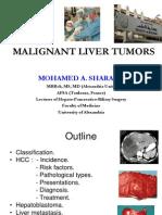 Malignant Liver Tumors Undergrad 6th Year Students Sharaan