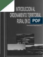 Ordenamiento Territorial Rural en Chile