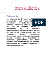 Secuencia Didactica -Texto Instructivo