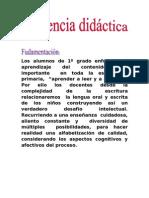 Secuencia Didactica -Texto Instructivo