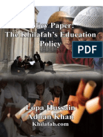Education Policy Paper