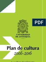 Plan Cultura UdeA