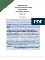 Fichas Pregunta Problema y Objetivos