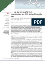 Hip Hop Cognitive Science MRI Study (Nature)