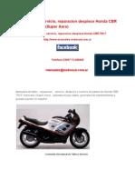 ManualtallerservicioreparaciondespieceHondaCBR750F