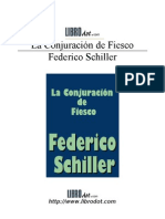Schiller Friedrich Von - La Conjuracion de Fiesco