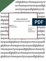 Project Report Onanalytics