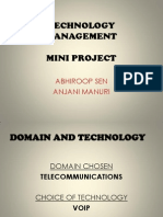 Technology Management Mini Project