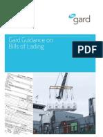Gard Guidance Bills of Lading March 2011